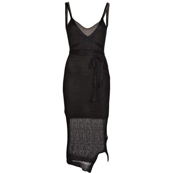 VIVIENNE WESTWOOD ANGLOMANIA Tunica dress ($500) ❤ liked on Polyvore featuring dresses, slip dress, sleeveless dress, wrap around dress, empire waistline dresses and sleeveless shift dress