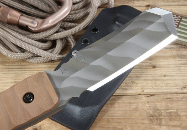 Crusader Forge MK 01 Tanto Tactical Fixed Blade Knife