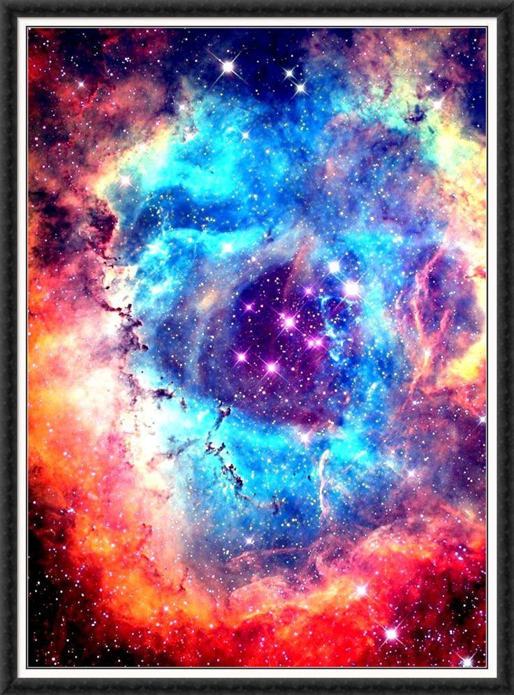 neon nebula in space - photo #7