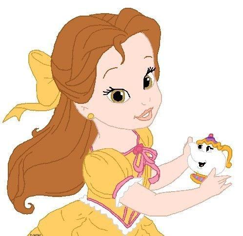 Disney Babies Clip Art | Princess Belle ~ Popular Cartoon | disney ...
