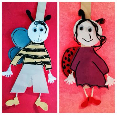 wooden spoon ladybug puppets 15 best images about puppets on theater 5782