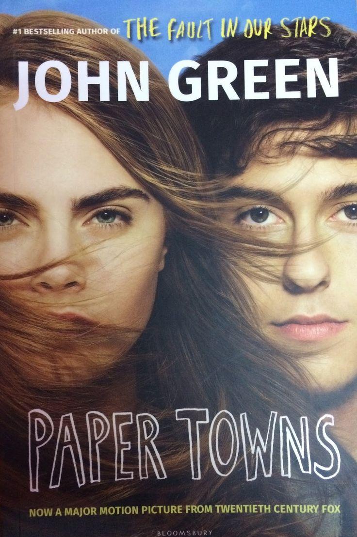 paper towns - john green book review