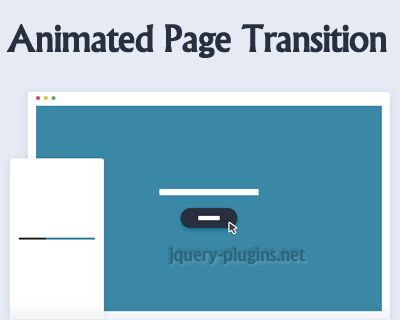 Animated Page Transition