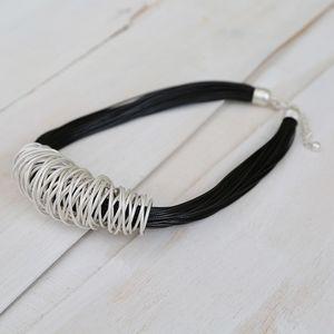 Bali Metal Spar Necklace