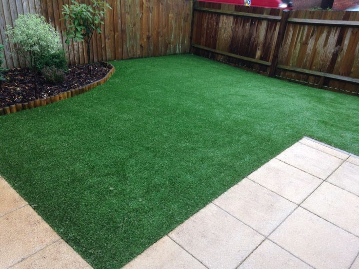 Leave Your Neighbours Green With Envy - Trulawn Artificial Grass Garden. Realistic look, great feel, durable.