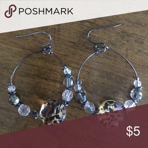 Selling this Cheetah Animal Print earrings on Poshmark! My username is: jennydon. #shopmycloset #poshmark #fashion #shopping #style #forsale #Accessories