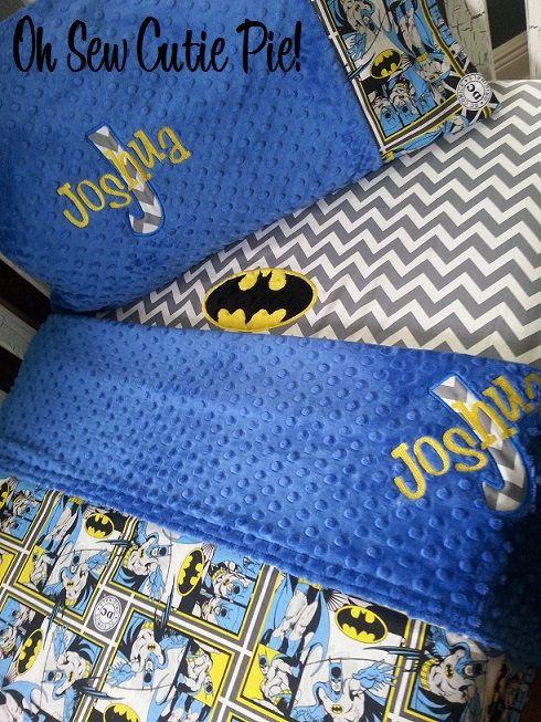 ON SALE Batman DC Comics Superhero nursery by OhSewCutiePie
