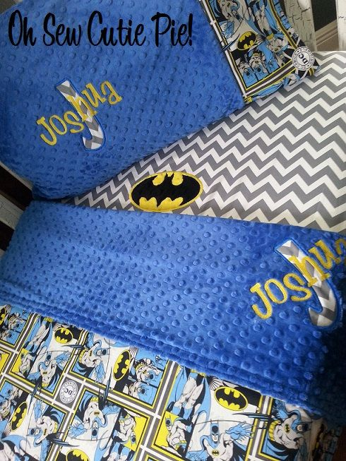 ON SALE Batman DC Comics Superhero nursery by OhSewCutiePie
