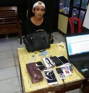 Rampas Tas di Kawasan Pasar Kembang Pelaku Jambret Diciduk Polsek Bubutan