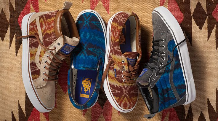 Pendleton Vans Sneakers. Vans Has More Pendleton Sneakers to Keep You Warm in Winter  POSTED Dec 01, 2015   Read more: http://solecollector.com/news/vans-pendleton-sneakers-december-2015/#ixzz3tEkNdJCr