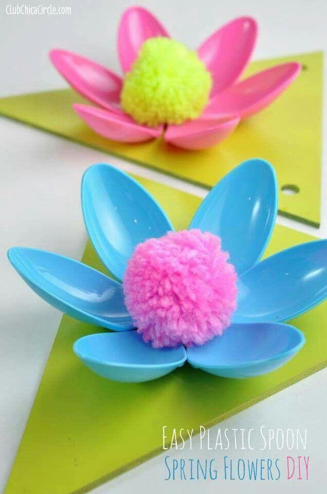Colher flor