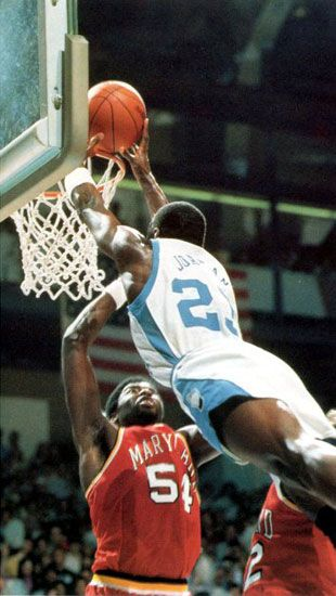 Michael Jordan - North Carolina Tar Heels