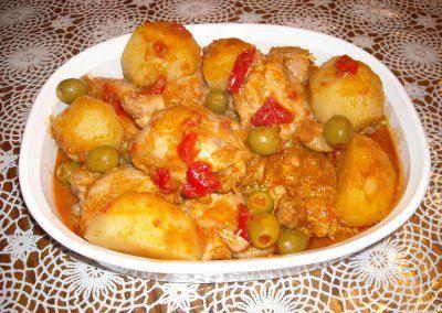 Cocina a lo Boricua: Fricase de pollo