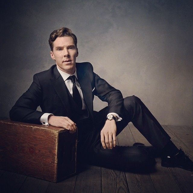 Lovely.  Benedict Cumberbatch.  Photo by Mark Seliger for VF Oscar Party 2014.