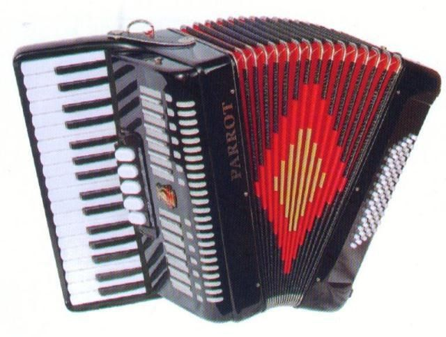 (480.00$)  Watch now  - The parrots brand 60BS YW823 accordion