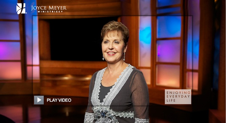 """Joyce Meyer Ministries- Television series """"Living Everyday Life"""". Click the link and it will take you to her page and watch """"A holy intervention"""". Joyce Meyer's is an INCREDIBLE speaker! :)     http://www.joycemeyer.org/BroadcastHome.aspx?video=A_Holy_Intervention_-_Pt_1"""