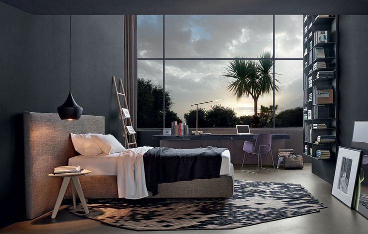 Poliform Bedroom Tom Dixon Light Marquina Rug Delicious