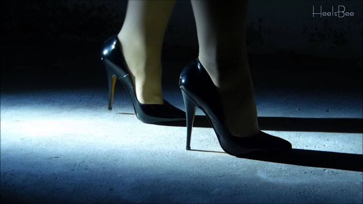 The Sound of High Heels #7 - Basement Walk (on Stone) [ASMR]