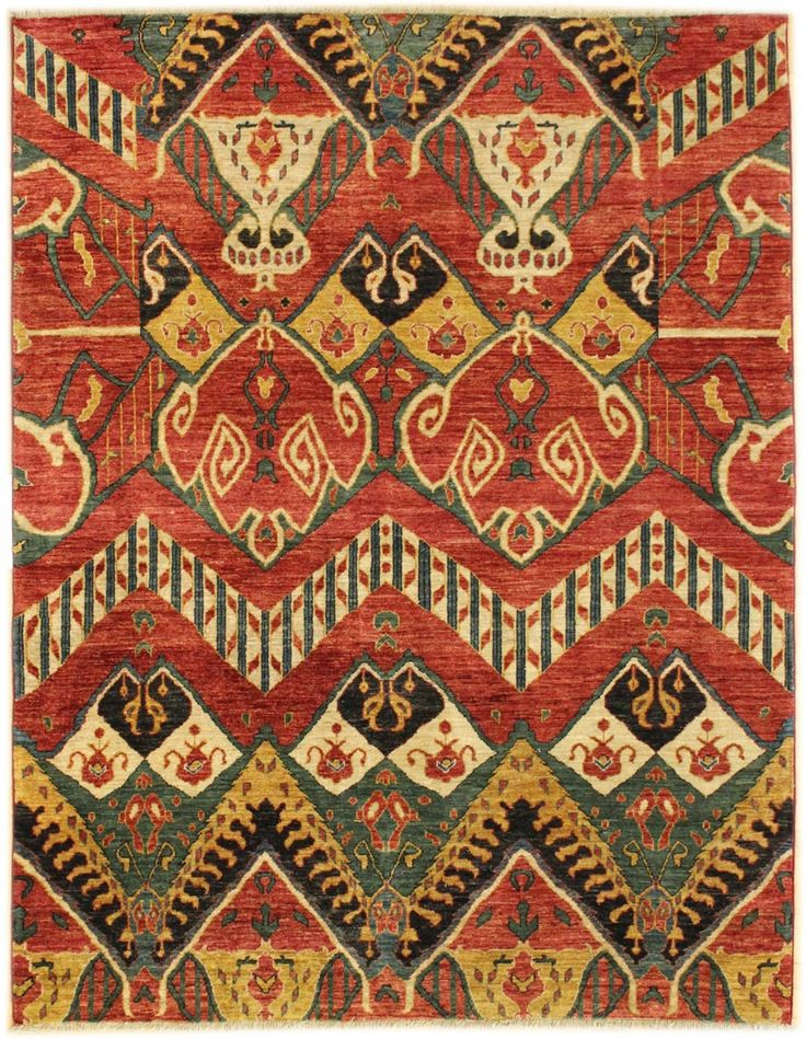 Suzani Ikat Designs Gallery Design Rug Hand Knotted In Afghanistan