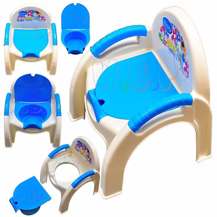 2 in 1 Baby Children's Toddler Training Potty and Chair for Boys or Grills BLUE