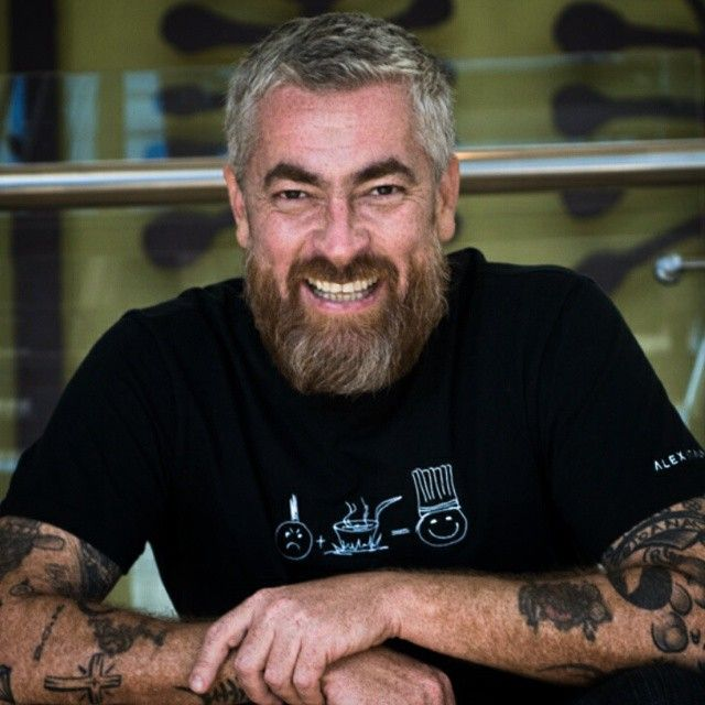 Alex Atala: Punk to chef.