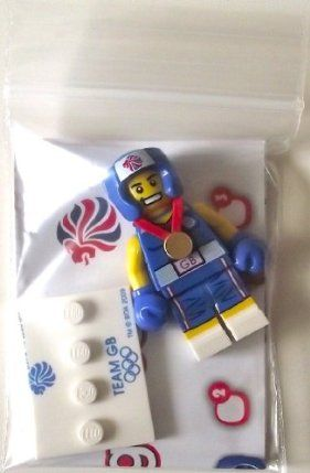 Lego Team GB Olympics Minifigures - Brawny Boxer Set #8909 (UK Exclusive) by LEGO. $9.99