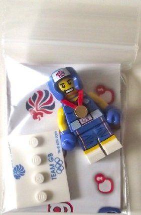 Lego Team GB Olympics Minifigures - Brawny Boxer Set #8909 (UK Exclusive) by LEGO. $9.99