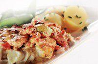 Verrassende ovenschotel met kabeljauw en druiven recept - Vis - Eten Gerechten - Recepten Vandaag