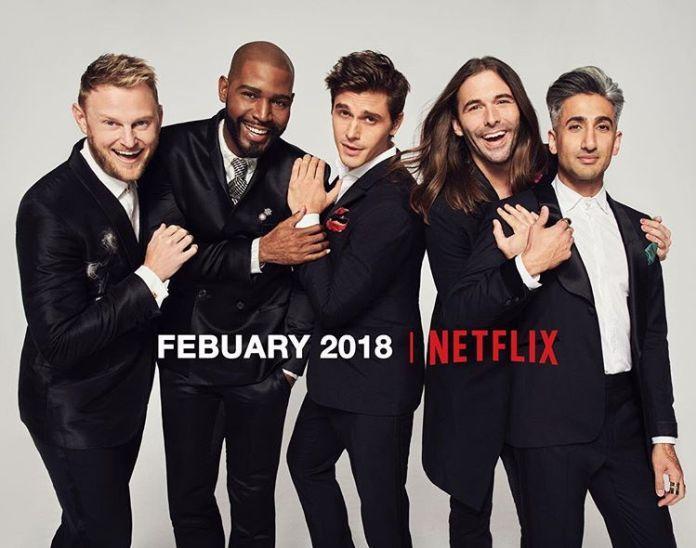 """El nuevo elenco de """"Queer Eye for the Straight Guy"""" en su regreso, ahora en Netflix"""