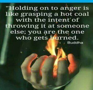 Holding On to Anger Quotes