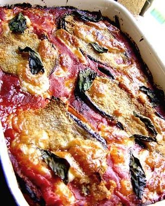 Melanzana Parmigiana, favourite meal of the moment
