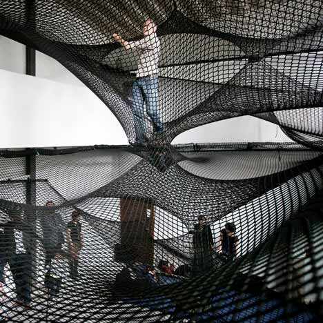 A Sculptural Landscape of Netting by Numen/For Use