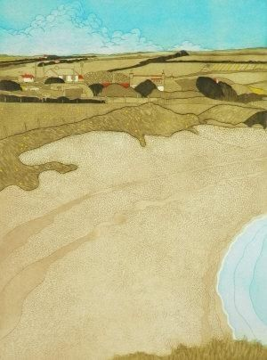 John Brunsdon, Coastal Scene on the Lleyn Peninsula