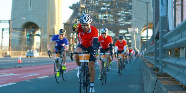 Sydney to celebrate cycling in support of charity