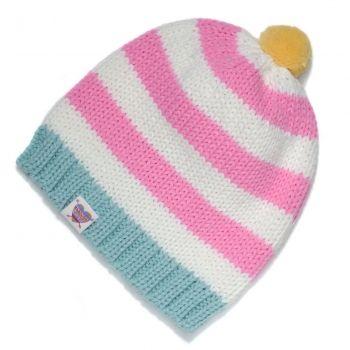Zimní čepice Femi Pleasure Stipi pink lemonade | Snowboard Zezula