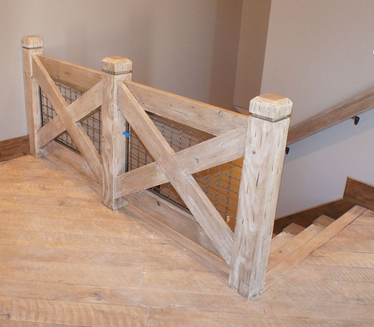 We recently finished the construction of an unusual stair railing. Description from blog.apexcarpentryinc.com. I searched for this on bing.com/images