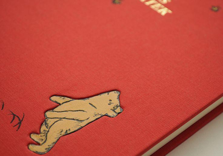 'Winnie The Pooh' A.A.Milne - book cover by Pracownia Leśna 6