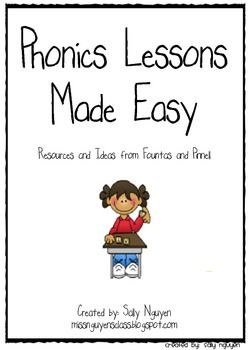 Overview for every month using Fountas and Pinnell Kindergarten Phonics Lesson (required, must have already).  This is to supplement that phonics curriculum.
