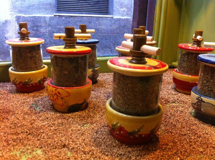 Molinillo de ceramica