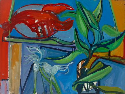 Still Life with Lobster II - James Weeks