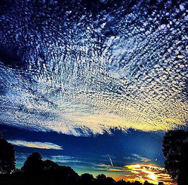 Sunset, mote park, Maidstone