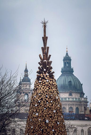 Charity Tree, Hello Wood, world architecture news, architecture jobs