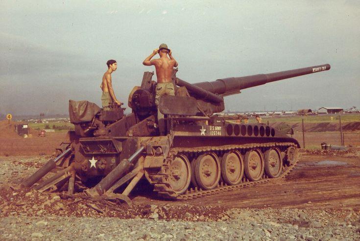 Self-propelled gun...Vietnam