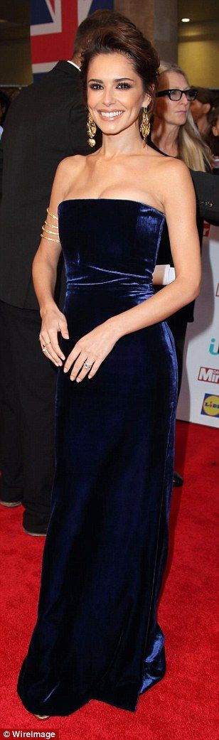 Girls Aloud reunite with Cheryl Fernandez-Versini at the Pride of Britain awards | Daily Mail Online