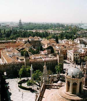 CVC. El jardín andalusí. Los reinos de taifas. Sevilla.