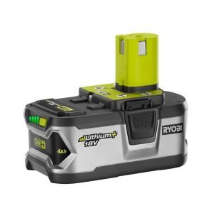 ryobi tools home depot. 18-volt 4 ah one+ lithium ion+ high capacity battery-p108 at the home ryobi tools depot