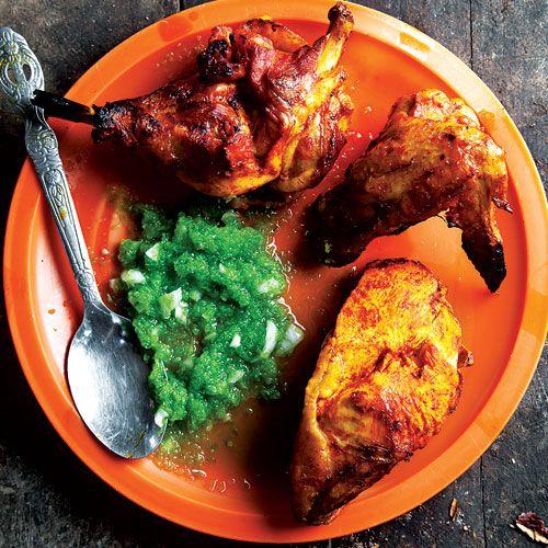 Pollo al Horno (Chile-Spiced Grilled Chicken)   SAVEUR