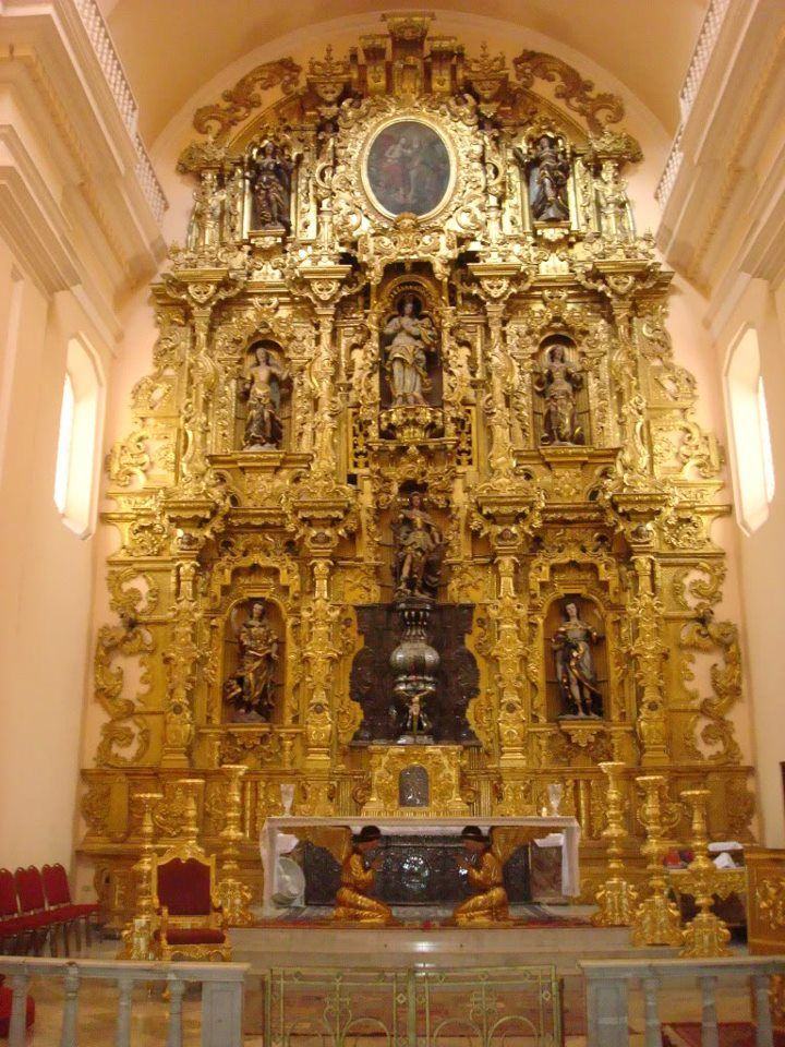 Altar Mayor de La Catedral de Tegucigalpa, Honduras
