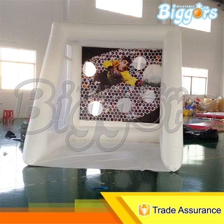499.00$  Watch now - http://alijpz.worldwells.pw/go.php?t=32790811248 - Outdoor 2x3x2.5m Carnival Games Inflatable Football Toss Game Soccer Goal For Sale