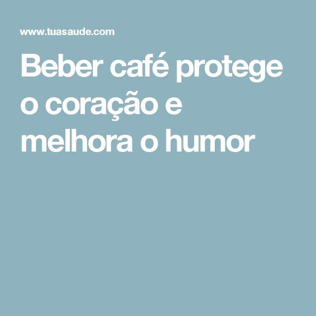 Beber café protege o coração e melhora o humor